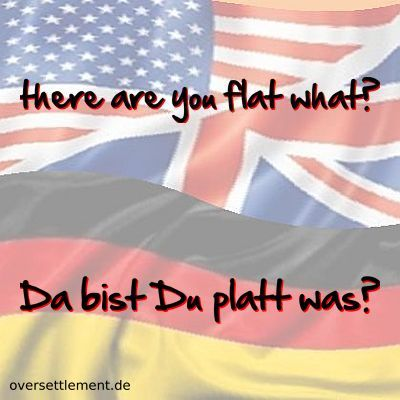 there are you flat what?