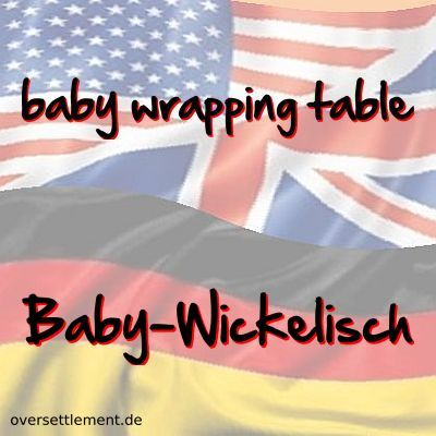 baby wrapping table