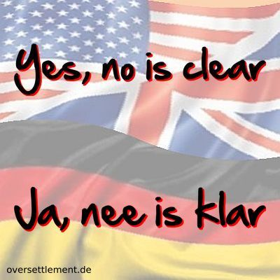 Yes, no is clear