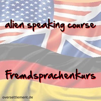 alien speaking course