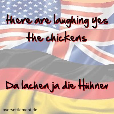 there are laughing yes the chickens