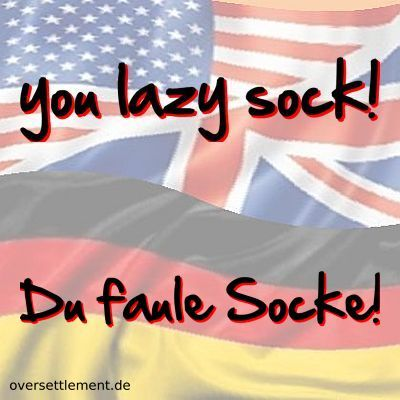 you lazy sock!