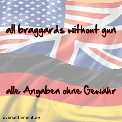 all braggards without gun