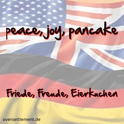 peace, joy, pancake