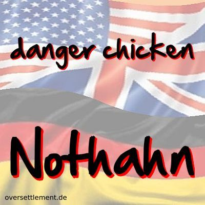danger chicken